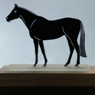 Trophy for the best horses fanciers